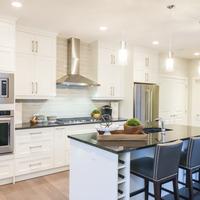 Medium parkhouse kitchen