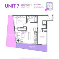 Medium ink web floorplans unit 7