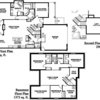 Medium penner floor plan