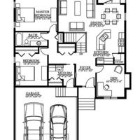 Medium sorrento floor plan