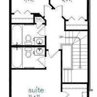 Medium liam upper floor plan