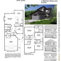 Medium pine floor plan