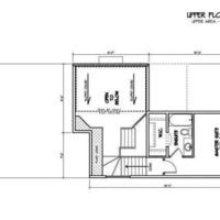 Medium the manchester 1319 sqft two storey upper floorplan shergill homes fort mcmurray 810x430