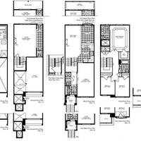 Medium lavender floor plan