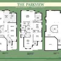 Medium parkview floorplan colour