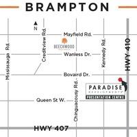 Medium location map