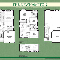 Medium newhampton floorplan colour