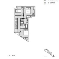 Medium unit 3 second floor