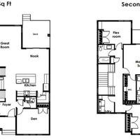 Medium highland floor plan
