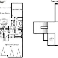 Medium cypress floor plan