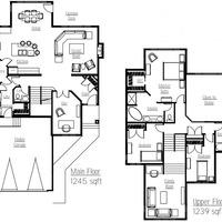 Medium tempo floor plan