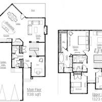 Medium axis floor plan