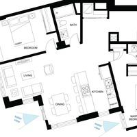 Medium thepearl floorplan unitb1