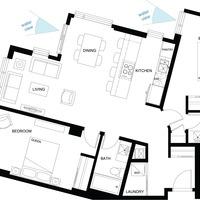 Medium thepearl floorplan unitb2