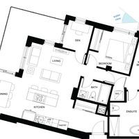 Medium thepearl floorplan unitc5