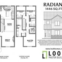 Medium radiant floor plan