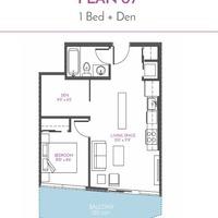 Medium floor plan 1407