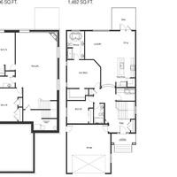 Medium prairie rose floor plan greenwood homes