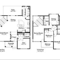 Medium horizon floorplan
