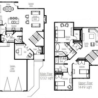 Medium vector floor plan