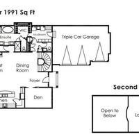 Medium venetian floor plan