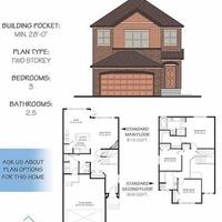 Medium hamilton floor plan