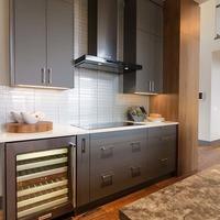 Medium grey cabinets
