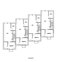 Medium even basement floorplan