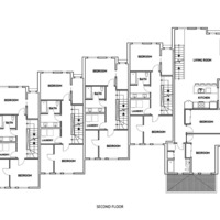 Medium even second floorplan
