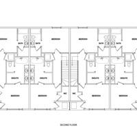 Medium jasper second floorplan