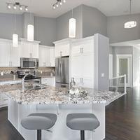 Medium kitchen features