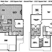 Medium elise floor plan