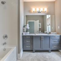 Medium second bathroom new home toronto