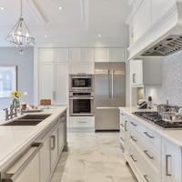 Medium stainless steel kitchen appliances