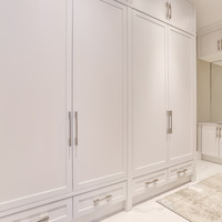 Medium closet space new built homes