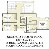 Medium aspen second floor