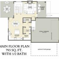 Medium aspen main floor plan