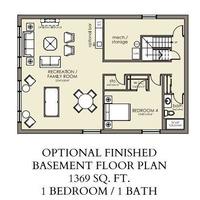 Medium cedar basement option