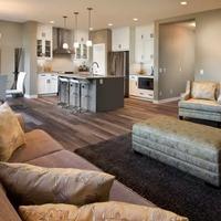 Medium living kitchen