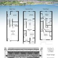 Medium skylar homes floor plans b unit