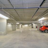 Medium underground parkade