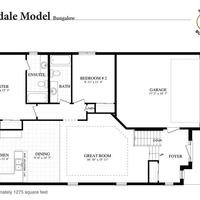 Medium coverdale floorplan