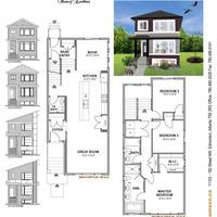 Medium elm floor plan