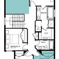 Medium newport ii second floor 4th bedroom