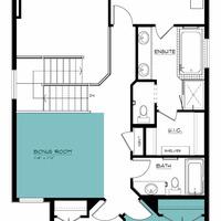 Medium newport ii second floor bonus room