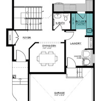 Medium newport ii main floor butlers pantry