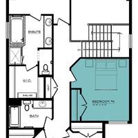 Medium westport second floor 4th bedroom