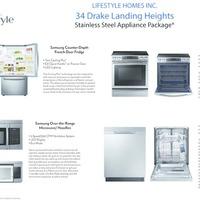 Medium 34 dl heights appliance package