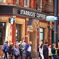 Medium starbucks coffee
