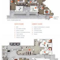 Medium 6th floor amenity plan